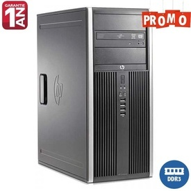 Calculator HP 8000 Elite Tower, Intel Core 2 Duo E8500, 4GB DDR3, 320GB, DVD-ROM