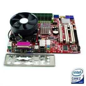 Kit Placa de baza MSI G31M3-L V2 + Intel Core 2 Quad Q9505 2.83GHz + 4GB DDR2 + Cooler