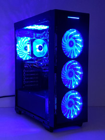 Calculator Gaming Intel Core i7 3770, 16GB, SSD 240GB + HDD 500GB, video XFX Radeon RX 470 8GB GDDR5X 256 bit