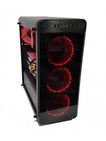 Calculator Gaming Intel Core i7 4790k, 16GB DDR3, SSD NVME 256GB + SSD 240GB + 1TB HDD, sursa 1000w, video 2xSapphire Radeon RX 580 NITRO+ 4GB GDDR5 256-bit, CrossFire