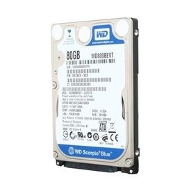 Hard disk laptop SATA Western Digital Scorpio Blue WD800BEVT 80GB 5400 RPM 8MB