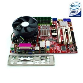 Kit Placa de baza MSI G31M3 V2 + Intel Quad Core E5410 2.33GHz + 4GB DDR2 + Cooler
