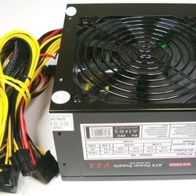 Sursa MS-Tech MS-N550-VAL, 550W,20+4 MB, 4+4 CPU, 6xSATA, 3xMolex, video 6 pini, ventilator 120mm, PFC PASIV