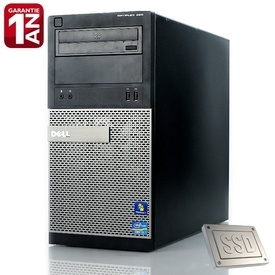 Calculator Dell Optiplex 390 MT, Intel Core i3-2120 3.3GHz, 4GB DDR3, SSD 128GB SATA3, Video HD Graphics, DVD-RW