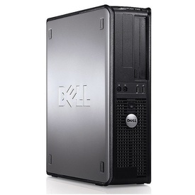 Calculator DELL Optiplex 760 DT, Intel Core 2 Duo E8400 3GHz, 4GB DDR2, 160GB, DVD-ROM