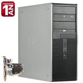 Calculator HP DC7800 Tower, Intel Quad Core X3330 2.66GHz, 4GB DDR2, 160GB, Video ATI HD5450 1GB DDR3, 64-Bit HDMI, DVD-RW