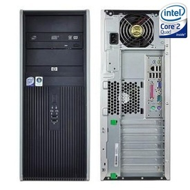 Calculator HP DC7900 Tower, Intel Core 2 Quad Q9400 2.66GHz, 4GB DDR2, 160GB, DVD-RW