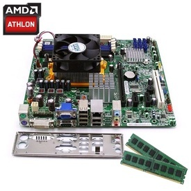 Kit Placa de baza Acer RS880M05A1 + AMD Athlon II Dual Core X2 260 3.2GHz + 4GB DDR3 + Cooler