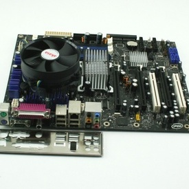 Kit Intel D975XBX, 3xPCI-Ex16 + Intel Core 2 Quad Q6600 + cooler