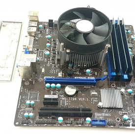 Kit placa de baza MSI B75MA-P45 + i5-3570 + 16GB DDR3 + cooler, LGA1155,USB3.0, SATA3