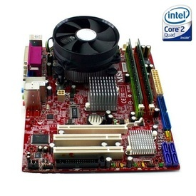 Kit Placa de baza MSI G31M3 V2 + Intel Quad Core E5405 2.00GHz + 4GB DDR2 + Cooler