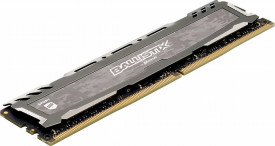 Memorie Gaming Crucial Ballistix Sport LT 2666 MHz DDR4 DRAM Single 8GB CL16 BLS8G4D26BFSBK (Gray)