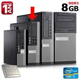 Calculator Dell Optiplex 7010 SFF, Intel Core i5-3570 3.4GHz (3.8GHz), 8GB DDR3, SSD 128GB SATA3, USB 3.0, DVD-RW