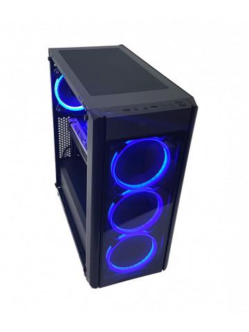 Calculator gaming Intel Haswell i5 4570, 8GB DDR3, SSD 240GB + HDD 1TB, video Sapphire Radeon RX 480 NITRO+ 4GB GDDR5 256-bit Lite