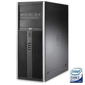 Calculator HP Compaq 8000 Elite Tower, Intel Core 2 Quad Q9400 2.66GHz, 4GB DDR3, 1TB, DVD-RW
