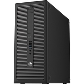 Calculator HP EliteDesk 800 G1 Tower, Intel Core i5-4570 3.2GHz Haswell, 8GB DDR3, 500GB, video Asus GT710 1GB HDMI