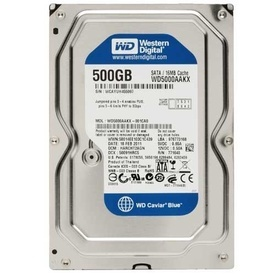Hard disk 3.5 WD Blue 500GB, 7200rpm, 16MB, SATA 3 WD5000AAKX