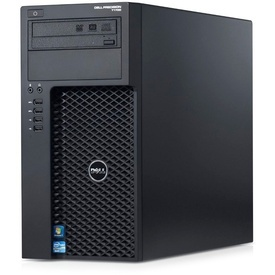 Workstation Dell Precision T1700 Intel Quad Core i5-4570 3.20GHz, 8GB ram, SSD 128GB+500GB, DVD-RW