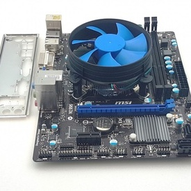 Kit placa de baza MSI H61M-P31/W8 + procesor i3 3220, 3.30GHz + cooler