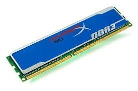 Memorie Kingston 2GB 1600MHz DDR3 CL9 DIMM HyperX Blu