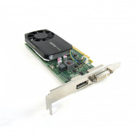 Placa video HP Quadro K620 DDR3 2GB 128-bit, DVI, DP, high profile sau low profile