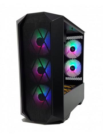 Calculator Gaming Intel Core i7 4790, 16GB DDR3, SSD NVME 500GB+1TB HDD, 2 placi video Sapphire Radeon R9 390 NITRO 8GB GDDR5 512-bit Lite, CrossFire