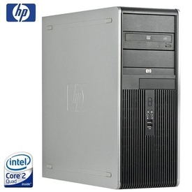 Calculator HP DC7800 Tower, Intel Quad Core X3330 2.66GHz, 4GB DDR2, 160GB, DVD-RW