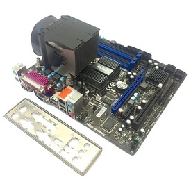 KIT Placa de baza MSI G41M-P33 Combo DDR2/DDR3 + Intel Core 2 Duo E7500 2.93GHz + Cooler