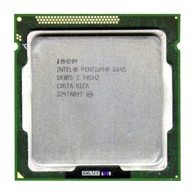 Procesor Intel Pentium Dual-Core Sandy Bridge G645, 2.9GHz, Cache 3MB, Socket LGA 1155