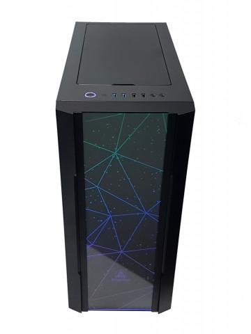 Calculator Gaming Intel Coffee Lake Core i7 9700F, 32GB DDR4, SSD NVME 512GB + 1TB HDD, video 2x XFX Radeon RX 580 GTS XXX Edition 8GB GDDR5 256-bit, CrossFire
