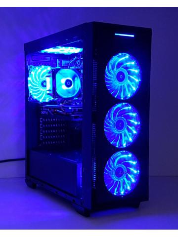 Calculator Gaming Intel Core i7 2600, 16GB, SSD 240GB + HDD 500GB, video XFX Radeon RX 470 8GB GDDR5X 256 bit