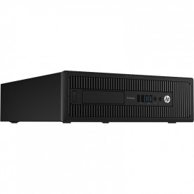 HP ProDesk 600 G1 SFF, Intel Haswell i5 4590S, 8GB DDR3, SSD 60GB + HDD 500GB, placa video GeForce 605 DP 1 GB DDR3