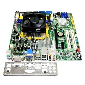 Kit AMD Athlon II X2 260 3.2GHz+placa de baza Foxconn RS780M03A1,4xDDR2, video HD3200 DVI, VGA. audio 7.1