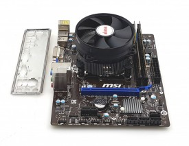 Kit MSI H81M-P33 + Intel Haswell core i3 4170 + 8GB DDR3 + cooler