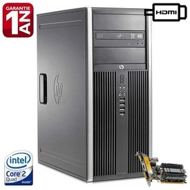 Calculator HP 8000 Elite Tower, Intel Core 2 Quad Q9505 2.83GHz, 8GB DDR3, 250GB, GeForce 210 1GB GDDR3 64-Bit VGA DVI HDMI, DVD-RW