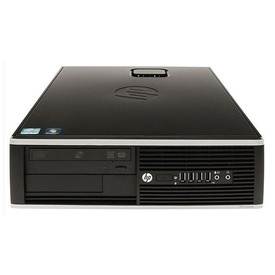 Calculator HP Compaq 8000 Elite SFF Intel Core 2 Duo E8500 3.16GHz, 4GB DDR3, 160GB, DVD-RW