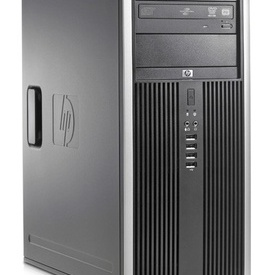 Calculator HP Compaq 8000 Elite Tower, Core 2 Quad Q9400, 4GB DDR3, 1TB HDD, DVD-RW