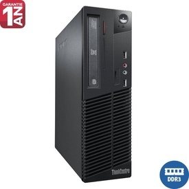 Calculator Lenovo Thinkcentre M70e, Intel Core 2 Duo E8400, 4GB DDR3, 250GB, DVD-RW