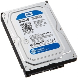 Hard disk WD Blue 500GB WD5000AZLX SATA-III 7200 RPM 32MB