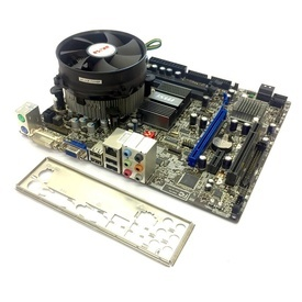 Kit Placa de baza MSI G41M-S03 + Intel Core 2 Duo E8600 3.3GHz + Cooler