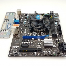 Kit Placa de baza MSI H55M-E23 + Intel Core i5-650 3.2GHz + Cooler, HDMI