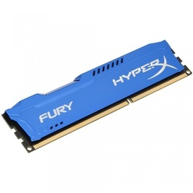 Memorie HyperX FURY Blue 4GB HX313C9FB/4, DDR3, 1333MHz, CL9, 1.5V
