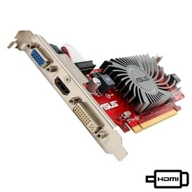 Placa video ASUS HD5450 1GB DDR3 64-bit HDMI DVI VGA Silent