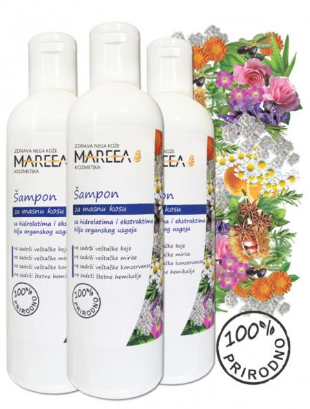 Slika Biljni šampon za masnu kosu 270 ML