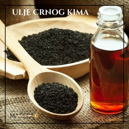 Slika ULJE CRNOG KIMA ( KUMINA ) ORGANSKO COLD PRESS 20ML