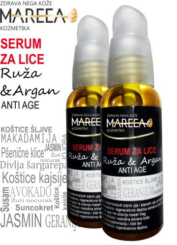 Slika SERUM ARGAN & RUŽA 50ml