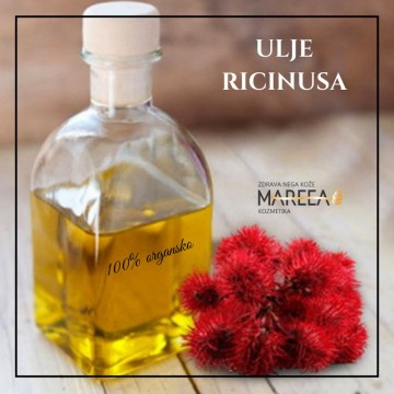 Slika ULJE RICINUSA 50ML, COLD PRESS