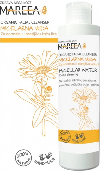 Slika MICELARNA VODA za normalnu i osetljivu kožu 200ml