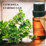 ETARSKO ULJE CITRONELA 10ML