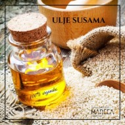 ULJE SUSAMA 50 ML, COLD PRESS